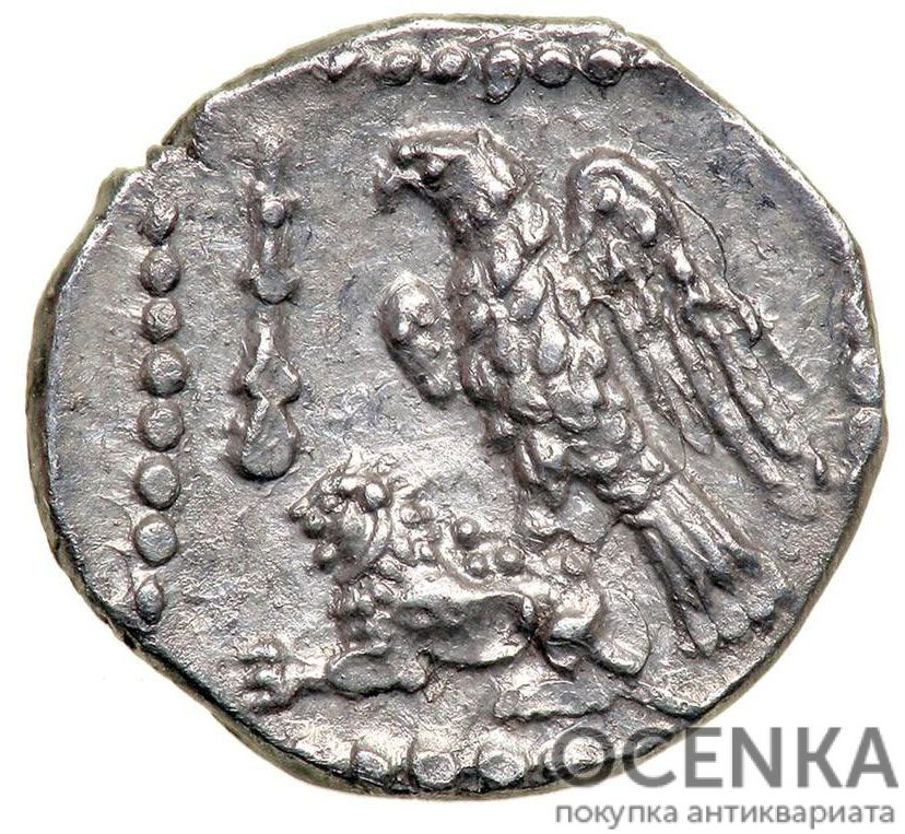 Серебряная монета Обол Древней Греции