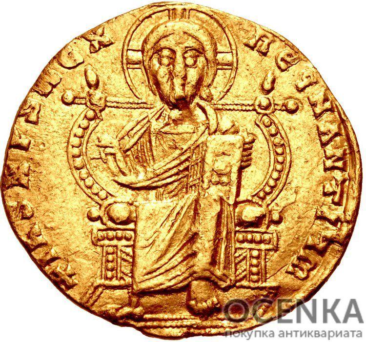 Золотой солид Византии, Лев VI Мудрый, 886-912 год