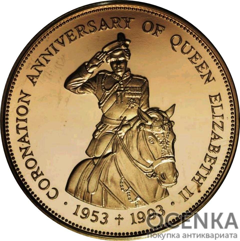Золотая монета 500 долларов Белиза - 2