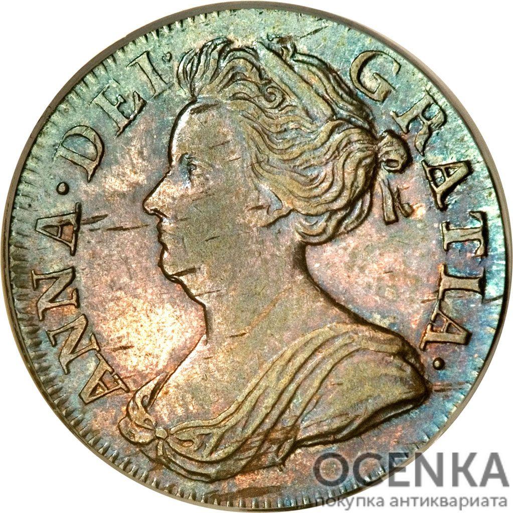 Серебряная монета 3 Пенса (3 Pence) Великобритания - 5