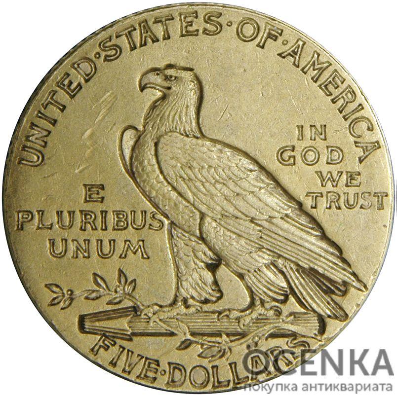 Золотая монета 5 Dollars (5 долларов) США - 8