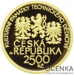 Золотая монета 2500 Крон (2500 Korun) Чехия