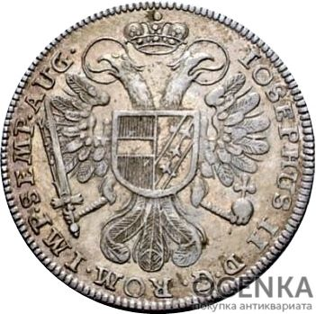 Серебряная монета 10 Крейцеров (10 Kreuzer) Германия - 6