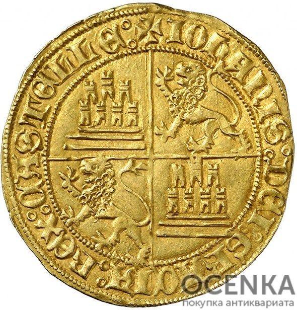 Золотая монета 1 Добла (1 Dobla) Испания - 6