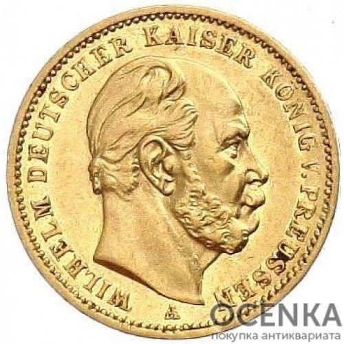Золотая монета 20 Марок Германия - 1