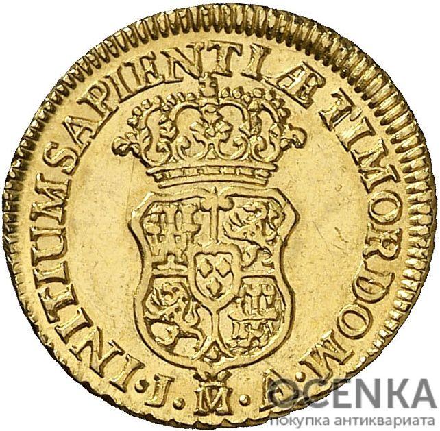 Золотая монета 1 Эскудо (1 Escudo) Испания - 4