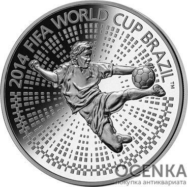 Серебряная монета 100 Рублей Белоруссии - 1