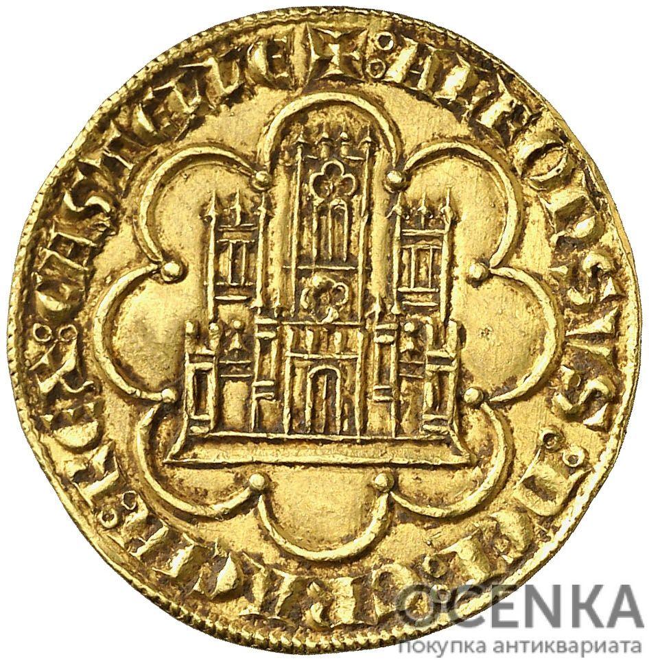 Золотая монета 1 Добла (1 Dobla) Испания - 1