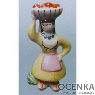 Статуэтка Марийка с яблоками