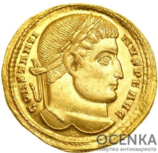 Золотой солид, Флавий Валерий Аврелий Константин, 307-337 год