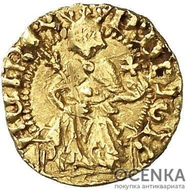 Золотая монета ⅛ Реала (⅛ Real) Испания - 3