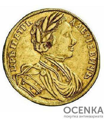 1 червонец 1711 года Петр 1 - 1