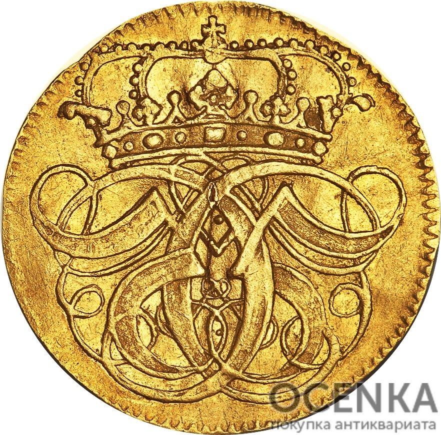 Золотая монета 1 Дукат (1 Ducat) Дания - 5