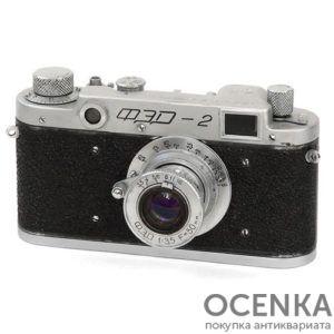 Фотоаппарат ФЭД-2 второй выпуск 1956-1958 год