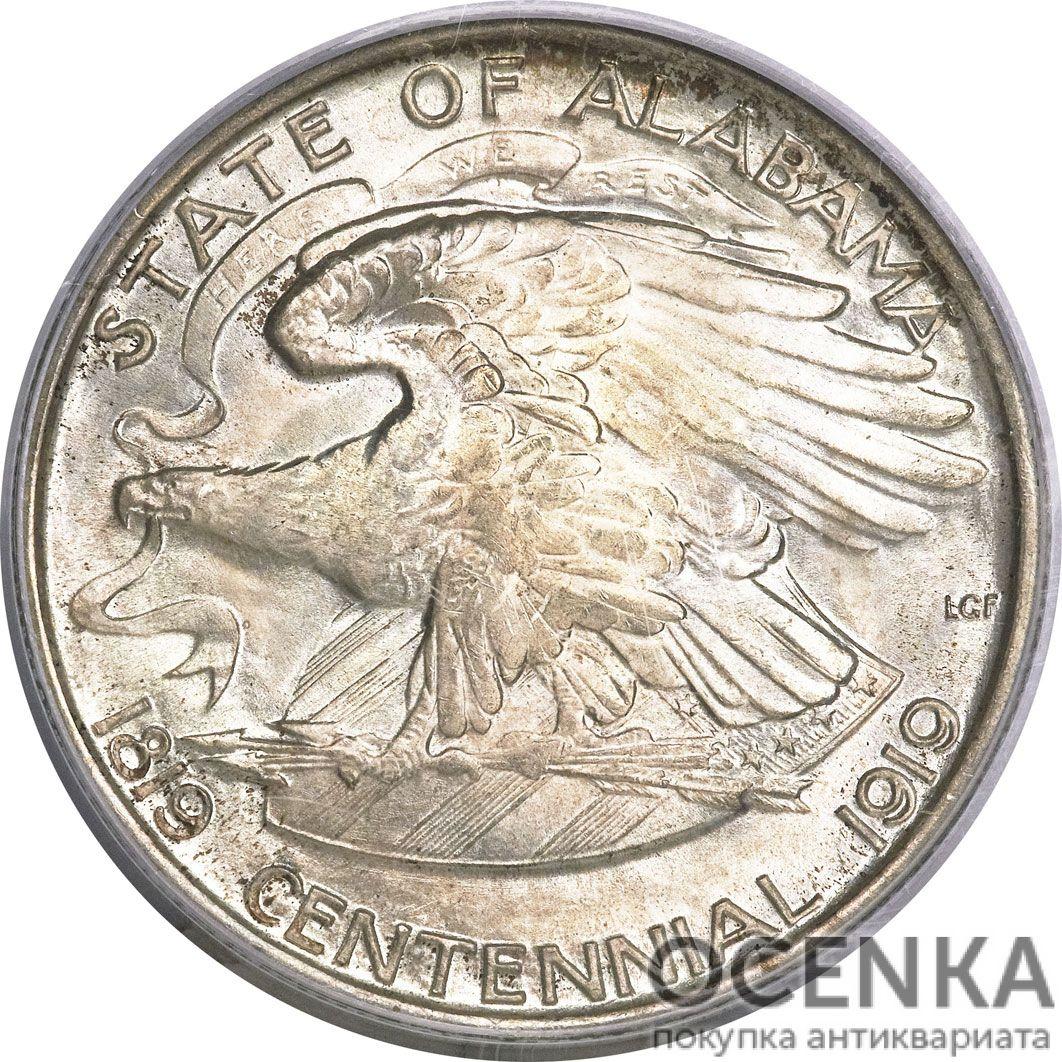 Серебряная монета ½ Доллара (Half Dollar) США - 4