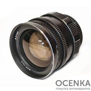 Объектив Мир-10 (Мир-10А, Мир-10М, Мир-10Т) 3.5/28 мм