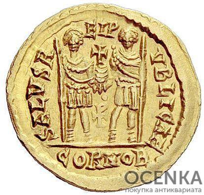 Золотой солид, Флавий Прокопий Антемий, 467-472 год - 1