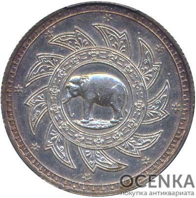 Серебряная монета 1 Бат Таиланда - 3