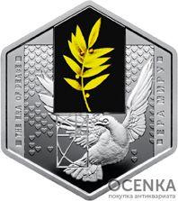 5 гривен 2018 год Эра мира