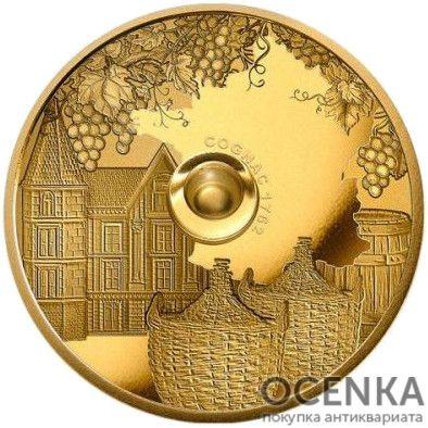 Золотая монета 100 Франков (100 Francs) Конго - 5