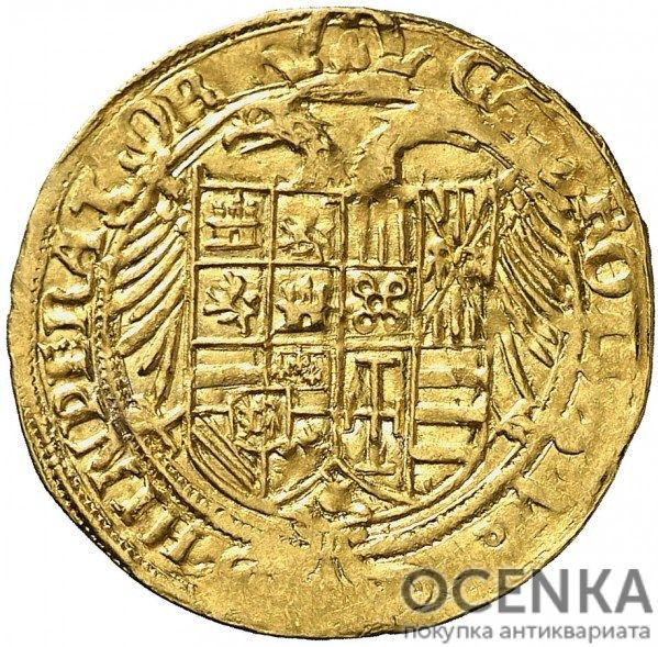 Золотая монета 1 Эскудо (1 Escudo) Испания - 1