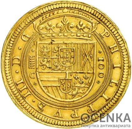Золотая монета 100 Эскудо (100 Escudos) Испания - 1