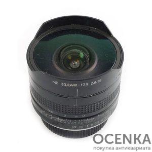 Объектив Зодиак-13К 2.8/16 мм