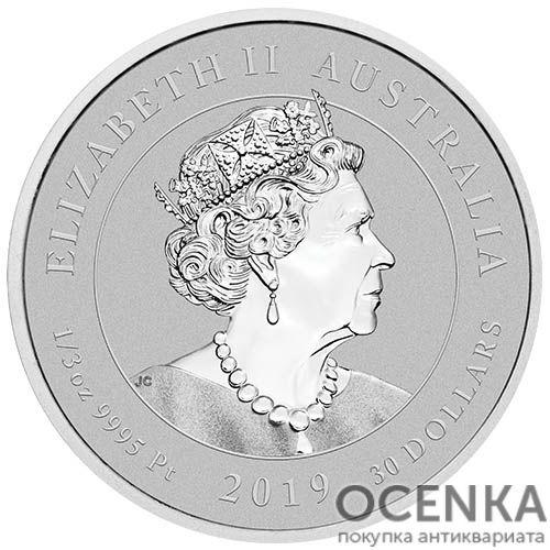 Платиновая монета 30 долларов Австралии - 2