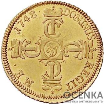 Золотая монета 1 Пистоль Германия - 4