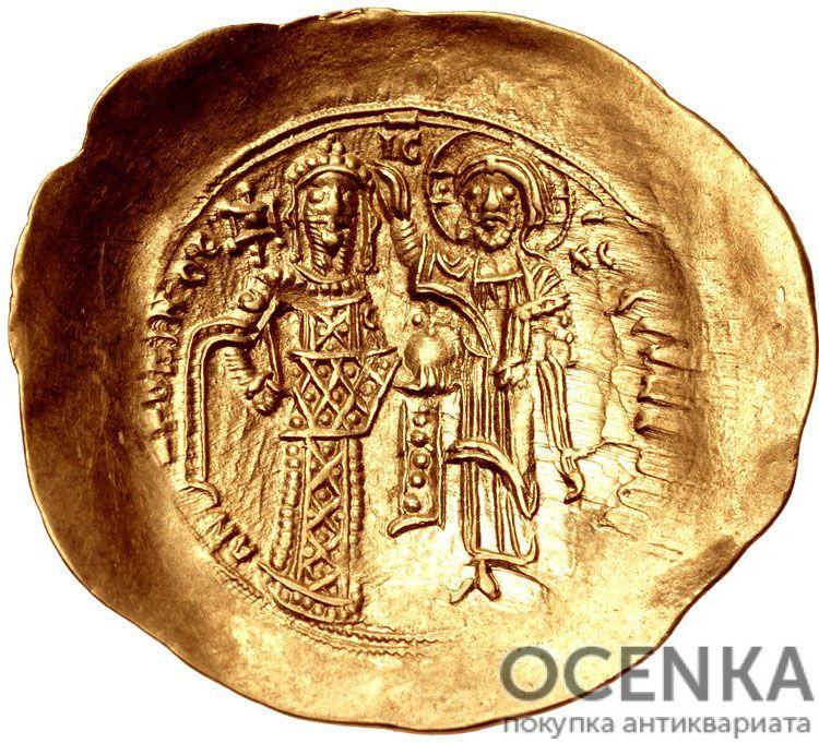 Золотой иперпир Византии, Андроник I Комнин, 1183-1185 год - 1