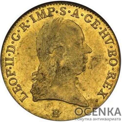 Золотая монета 1 дукат Австро-Венгрии - 3