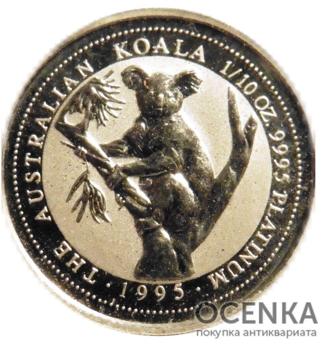 Платиновая монета 15 долларов Австралии - 3