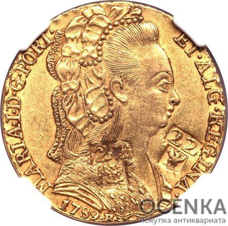 Золотая монета 22 Ливра (22 Livres) Франция - 2