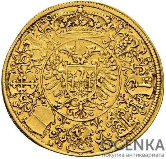 Золотая монета 3 Дуката (3 Ducats) Франция