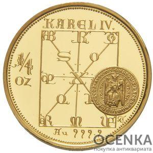 Золотая монета 2500 Крон (2500 Korun) Чехия - 5
