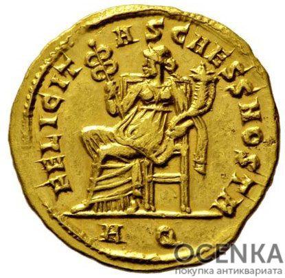 Золотой ауреус, Цезарь Флавий Валерий Север Август, 306-307 год - 1