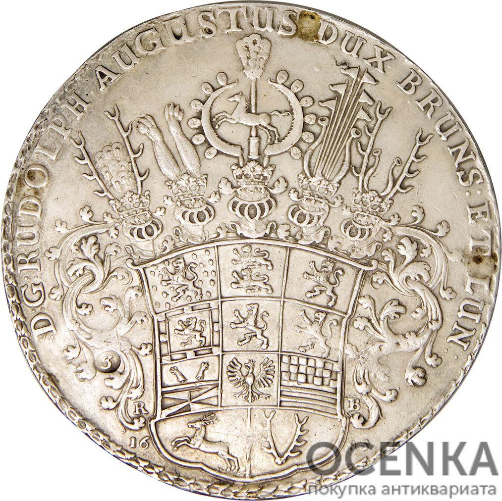 Серебряная монета 3 Талера (3 Thaler) Германия - 7