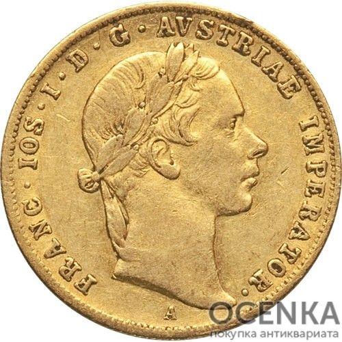 Золотая монета 1 дукат Австро-Венгрии - 1