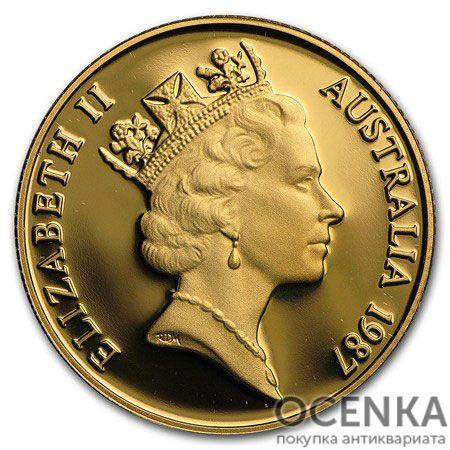 Золотая монета 200 долларов 1987 год. Австралия. Артур Филлип - 1