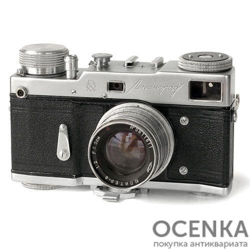 Фотоаппарат Ленинград ГОМЗ 1956-1968 год