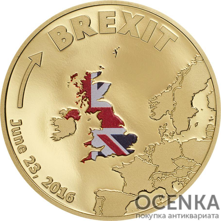 Золотая монета 20 Долларов Островов Кука - 1
