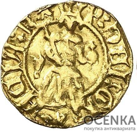 Золотая монета ⅛ Реала (⅛ Real) Испания - 1