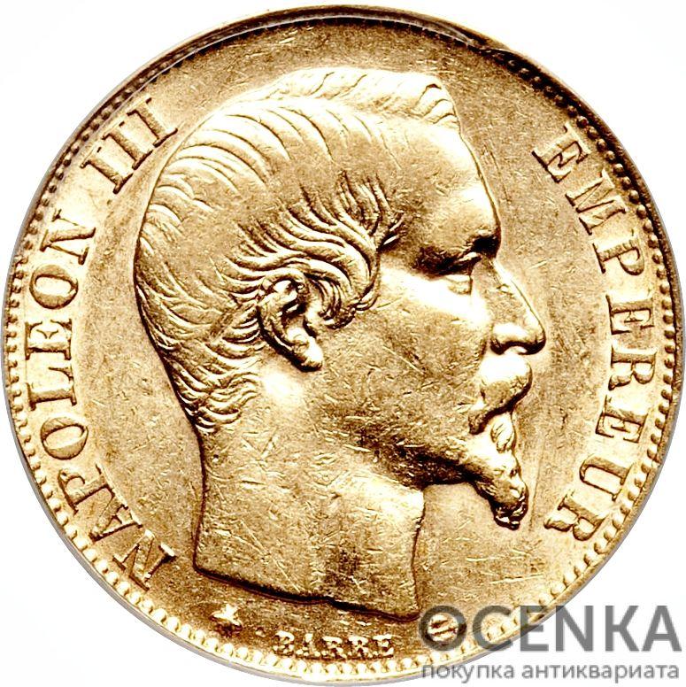 Золотая монета 20 Франков (20 Francs) Франция - 9