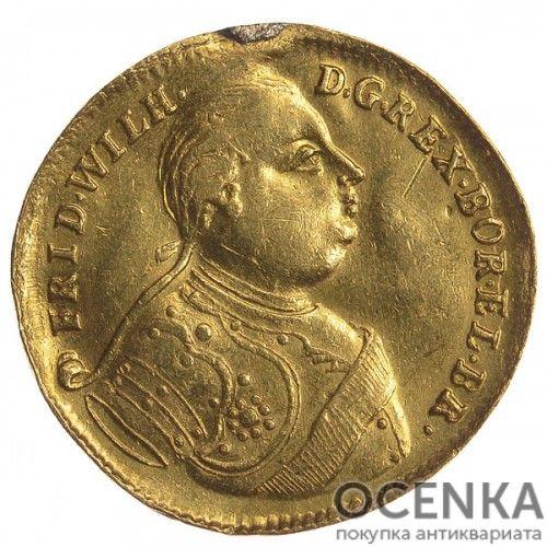 Золотая монета 1 Дукат Германия