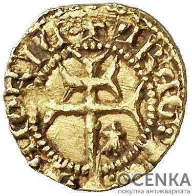 Золотая монета ⅛ Реала (⅛ Real) Испания - 2