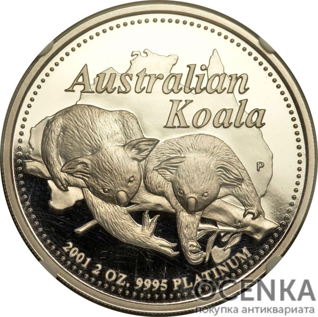 Платиновая монета 200 долларов Австралии - 3