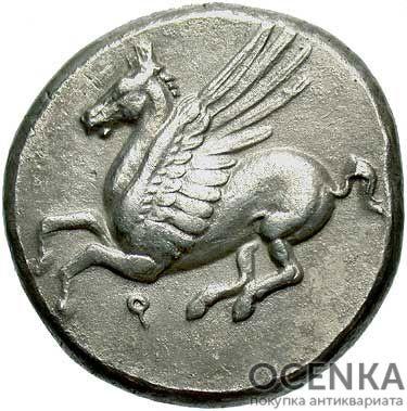 Серебряная монета Статер Древней Греции - 2