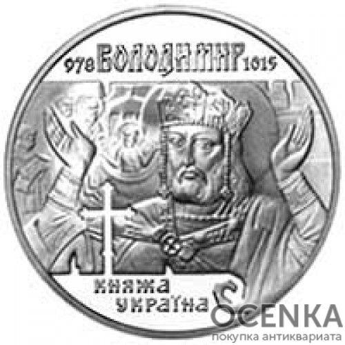 10 гривен 2000 год Владимир Великий