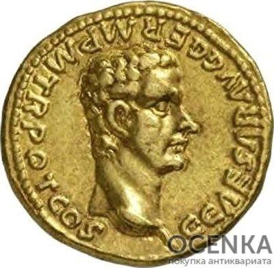 Золотой ауреус, Калигула (Гай Юлий Цезарь Август Германик), 37-41 год