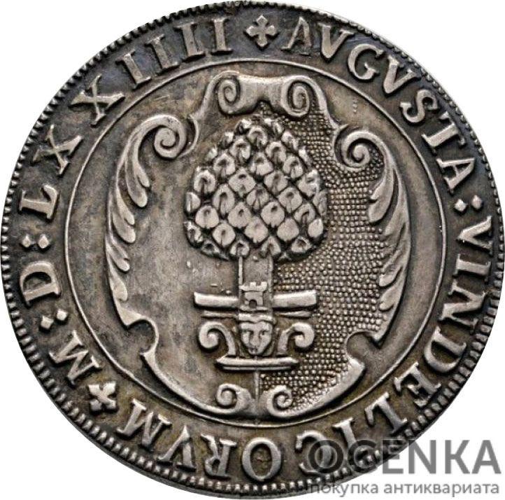 Серебряная монета 60 Крейцеров (60 Kreuzer) Германия - 1
